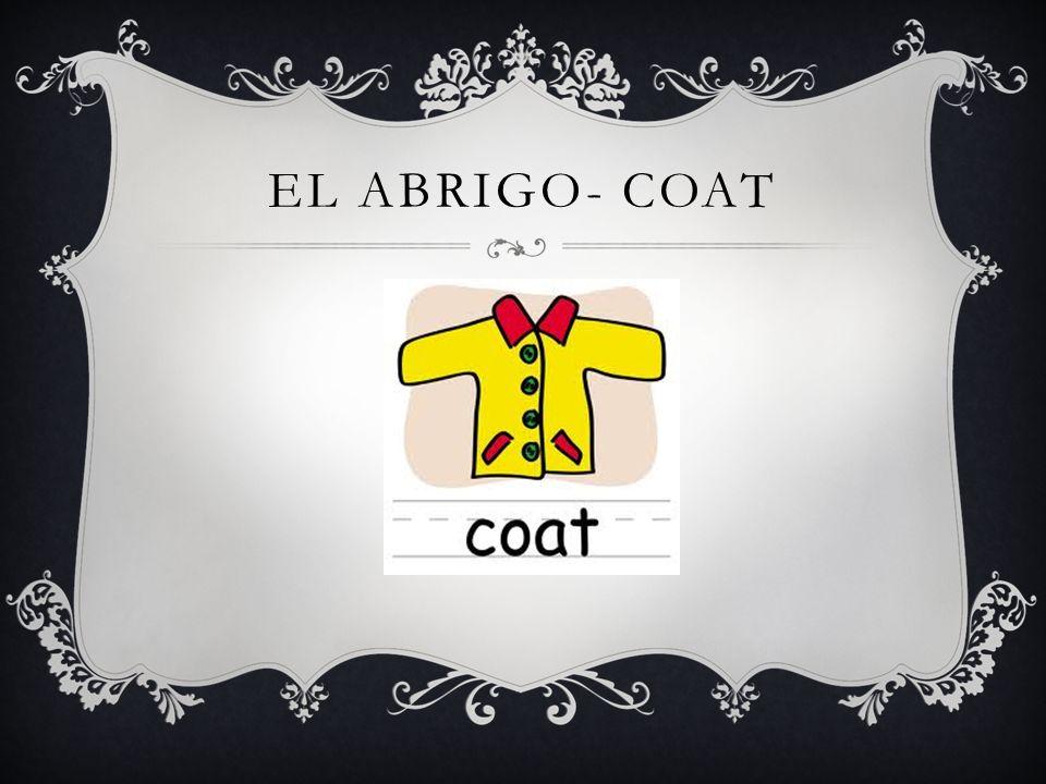 EL ABRIGO- COAT