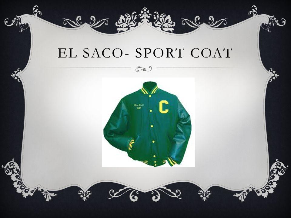 EL SACO- SPORT COAT