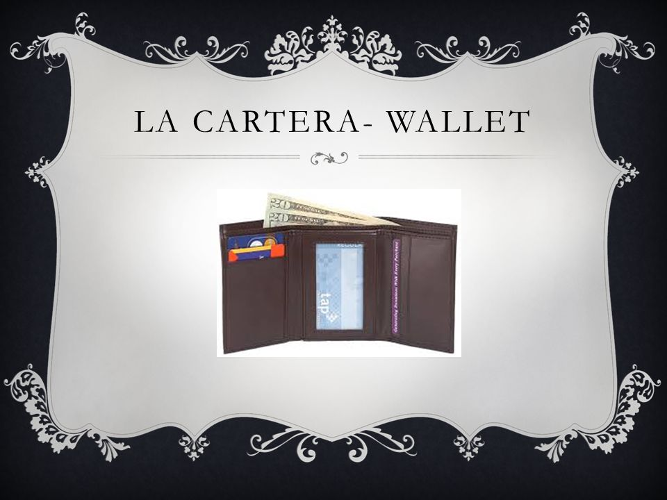 LA CARTERA- WALLET