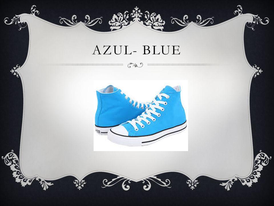 AZUL- BLUE
