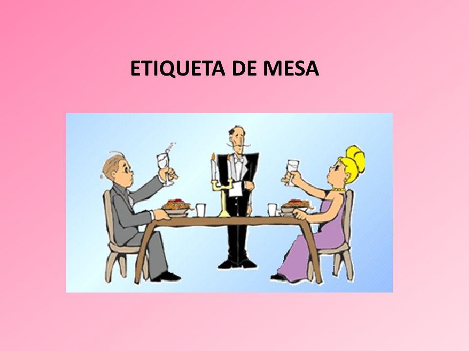 ETIQUETA DE MESA