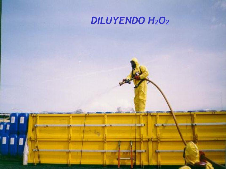 DILUYENDO H 2 O 2