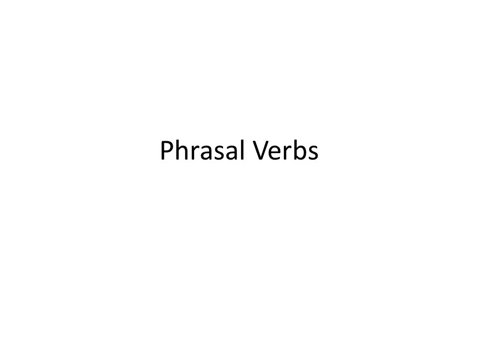 The term phrasal verb is commonly applied to two or three distinct but related constructions in English: a verb and a particle and/or a preposition co-occur forming a single semantic unit.