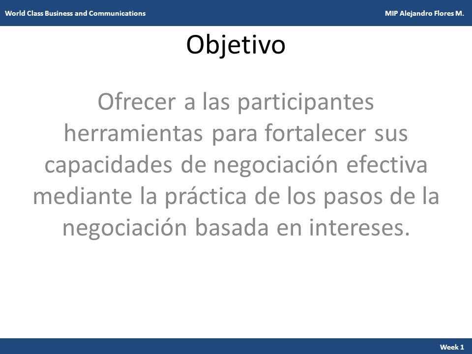 Objetivo Ofrecer a las participantes herramientas para fortalecer sus capacidades de negociación efectiva mediante la práctica de los pasos de la nego