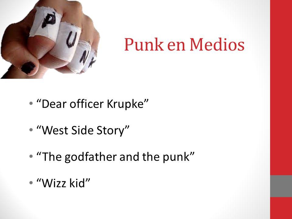Nuevos Grupos Decadencia y corrupción del rock Rock desnudo, básico, rápido, violento y agresivo Música sin adornos Canciones breves y explosivas Visi