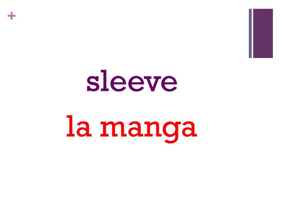 + sleeve la manga