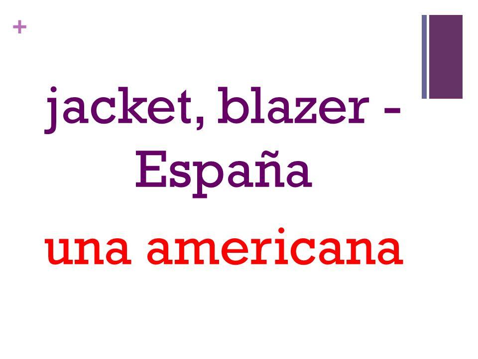 + jacket, blazer - España una americana