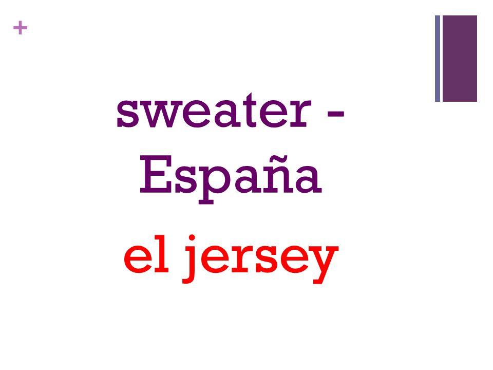 + sweater - España el jersey