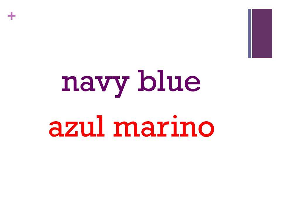 + navy blue azul marino