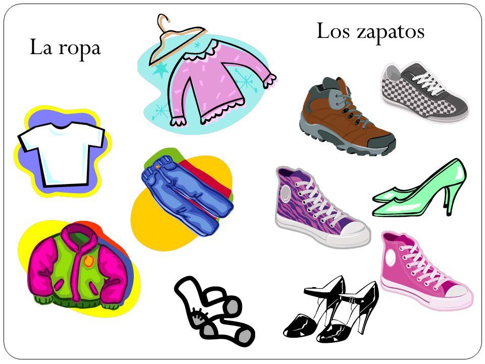 La ropa Los zapatos
