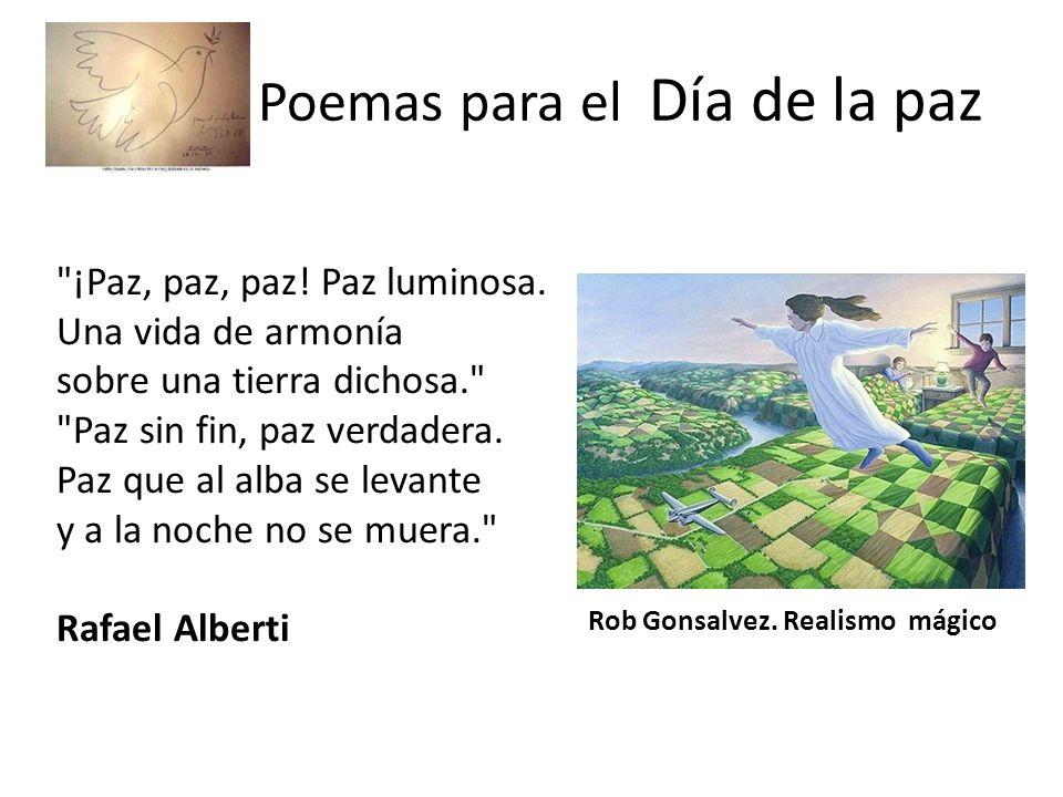 Poemas para el Día de la paz Mariana, ¿qué es el hombre sin libertad.