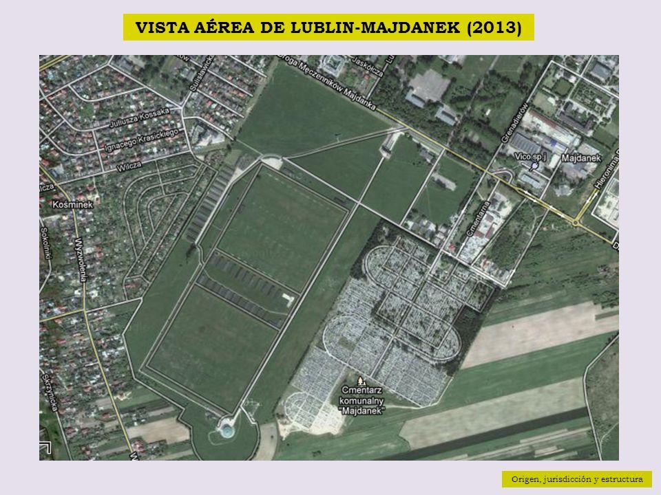 VISTA AÉREA DE LUBLIN-MAJDANEK (2013)