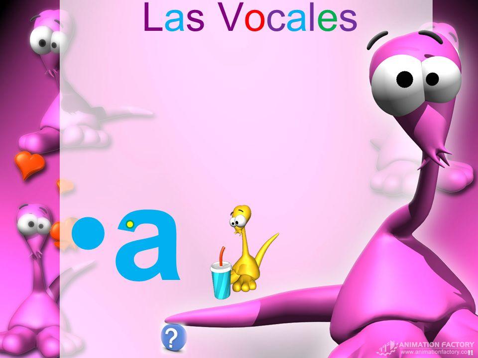 Las Vocales a 11