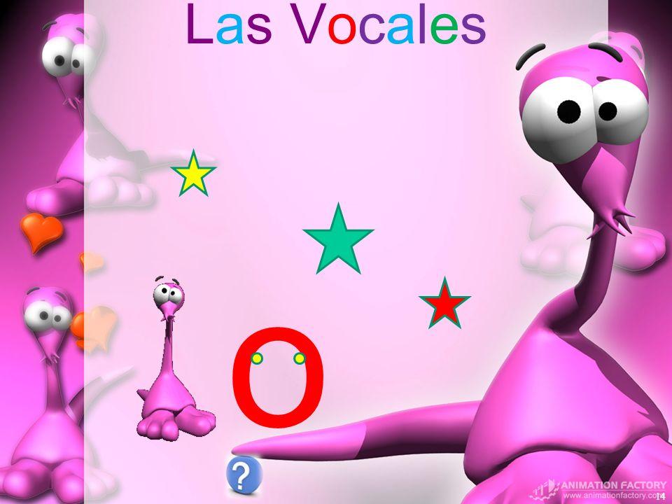 Las Vocales 14 o