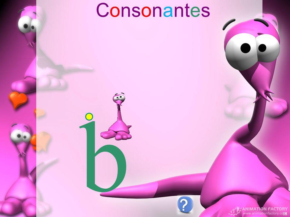 Consonantes 18 b