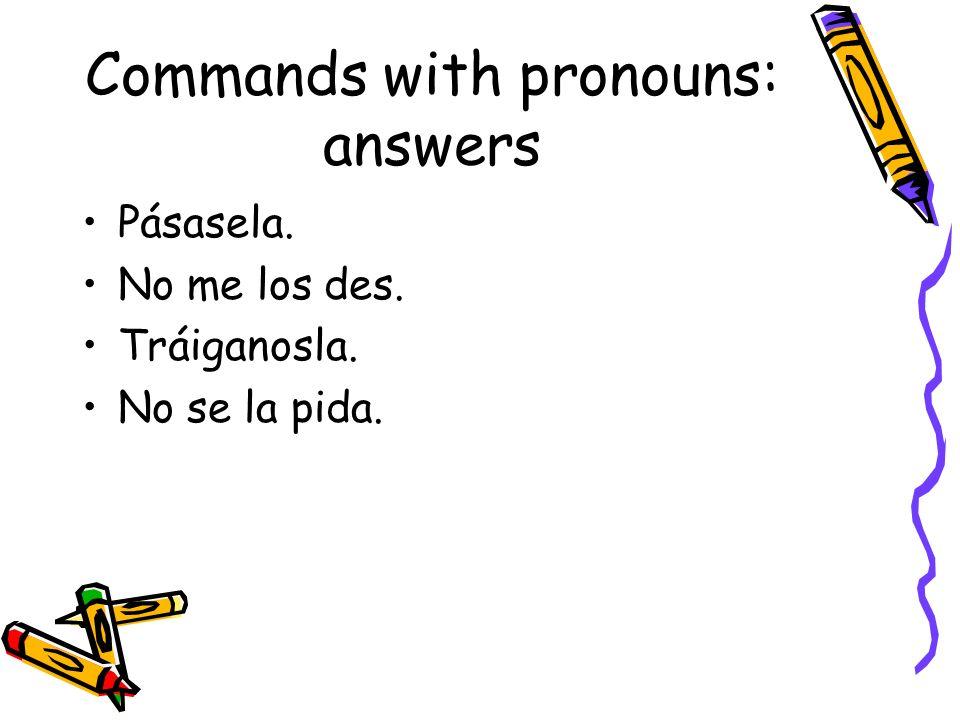 Adverbs: make the following adj into adv: (p254) Sola Nerviosa Lenta Tranquila Reciente Fácil Inmediata