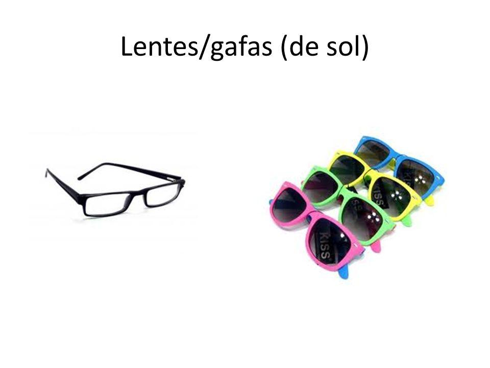 Lentes/gafas (de sol)