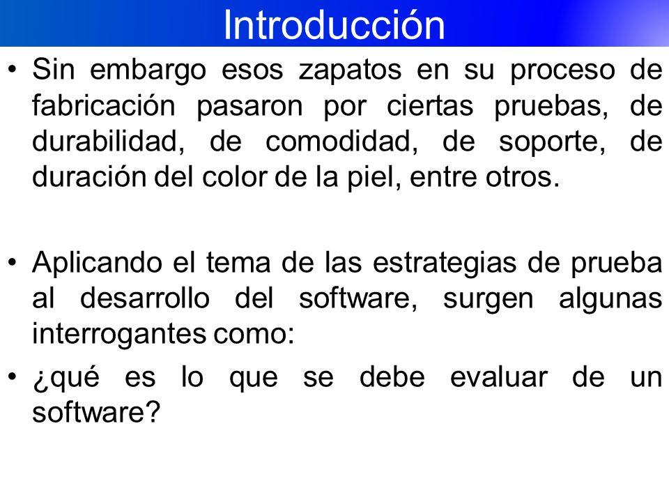 Introducción ¿Es posible que las pruebas aseguren el completo funcionamiento del software ¿cómo pueden diseñarse las técnicas de prueba.