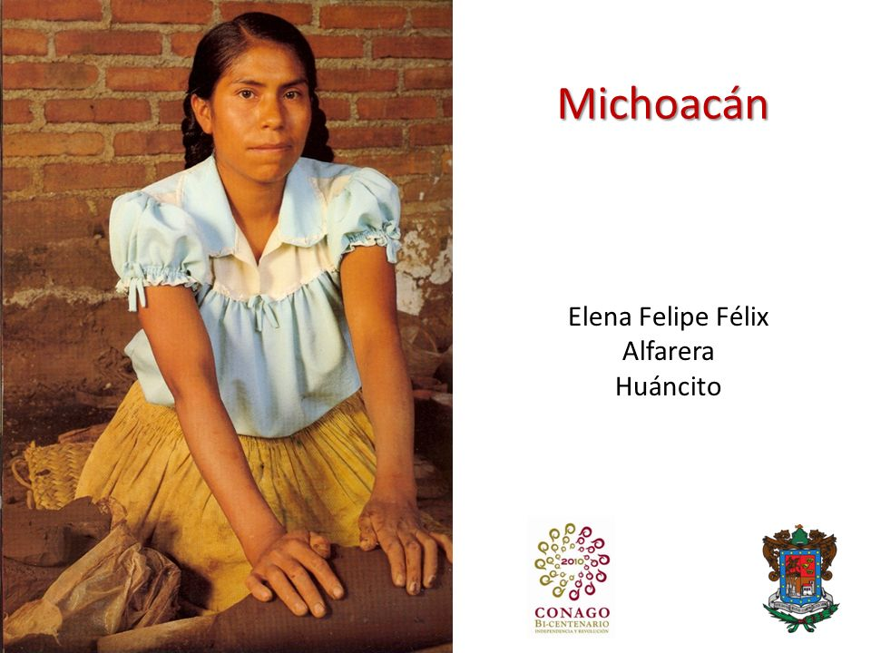 Michoacán Elena Felipe Félix Alfarera Huáncito