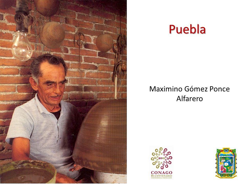 Puebla Maximino Gómez Ponce Alfarero