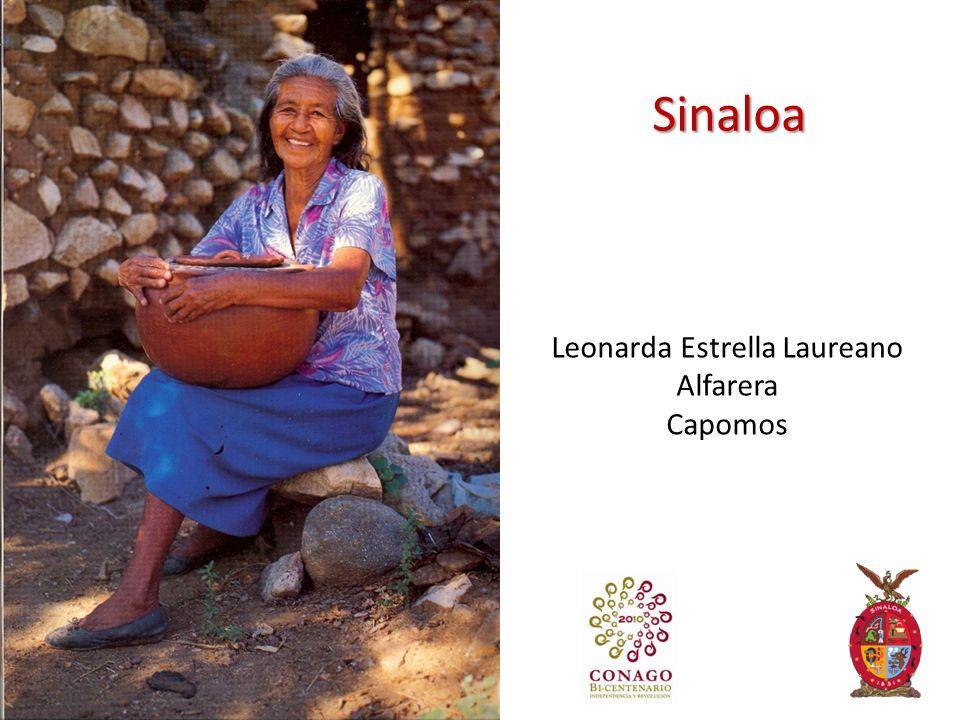 Sinaloa Leonarda Estrella Laureano Alfarera Capomos