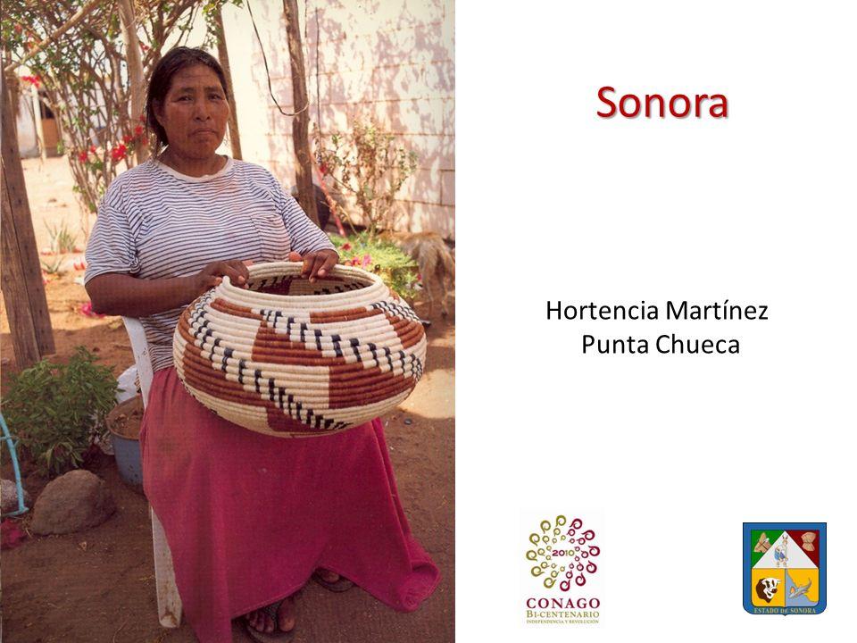 Sonora Hortencia Martínez Punta Chueca