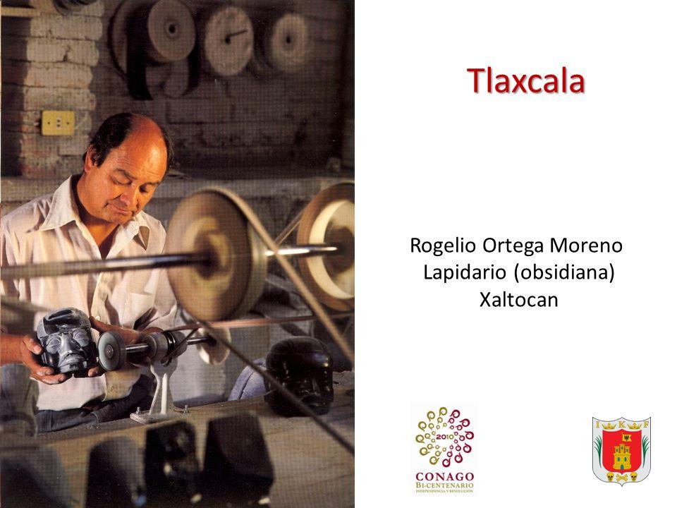 Tlaxcala Rogelio Ortega Moreno Lapidario (obsidiana) Xaltocan