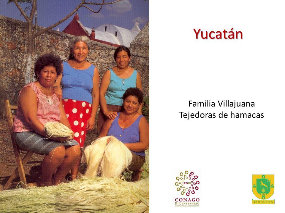 Yucatán Familia Villajuana Tejedoras de hamacas