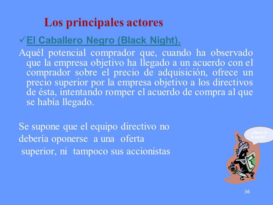 36 El Caballero Negro (Black Night).