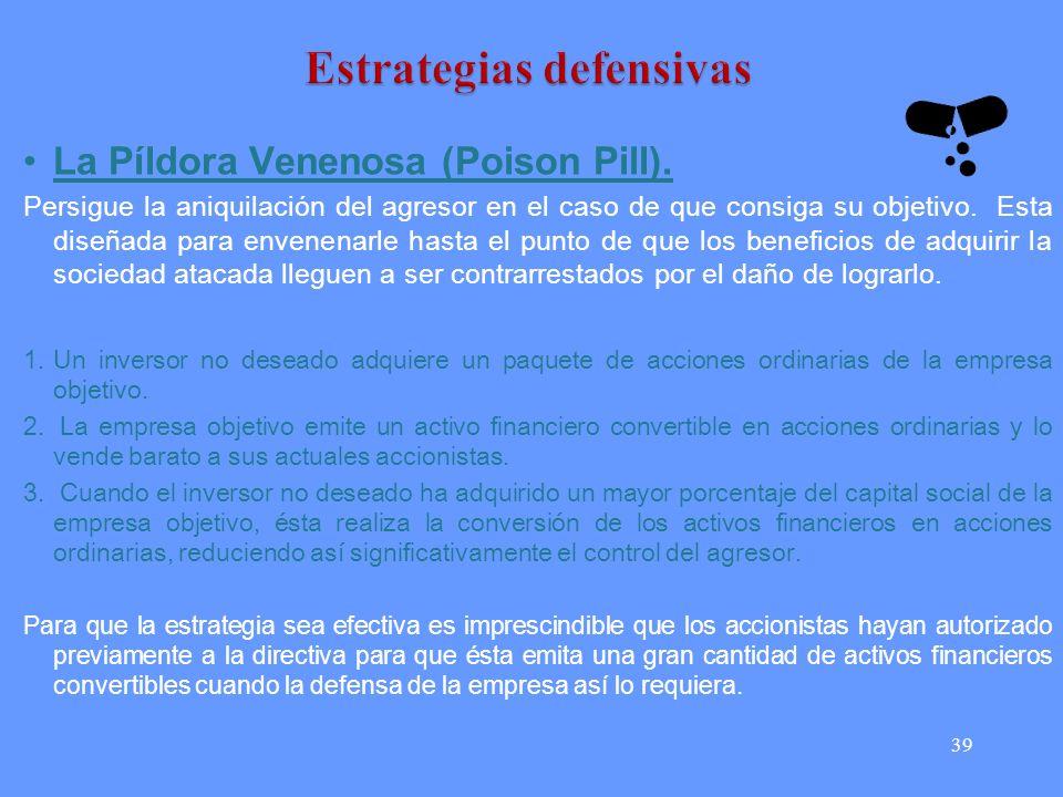 39 La Píldora Venenosa (Poison Pill).