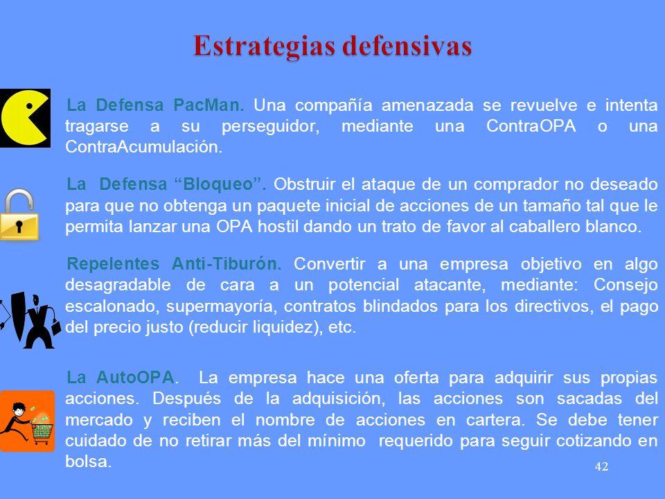 42 La Defensa PacMan.