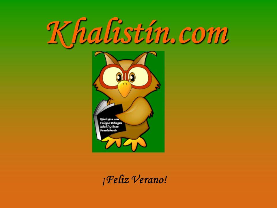Khalistín.com ¡Feliz Verano!