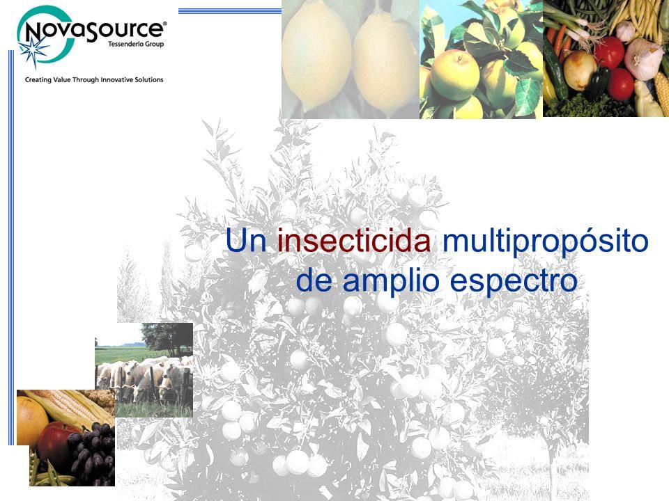 2 Un insecticida multipropósito de amplio espectro