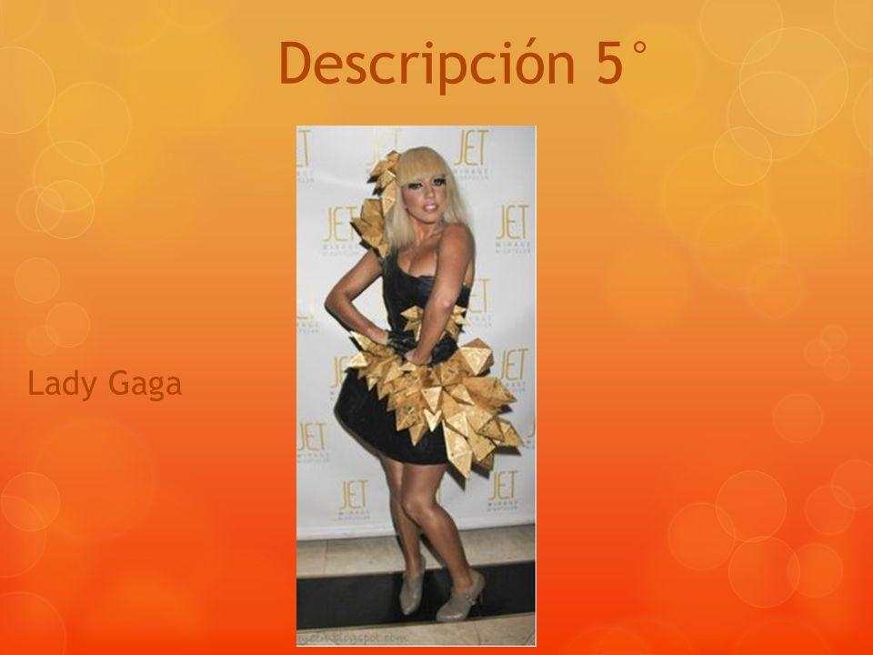 Descripción 5° Lady Gaga