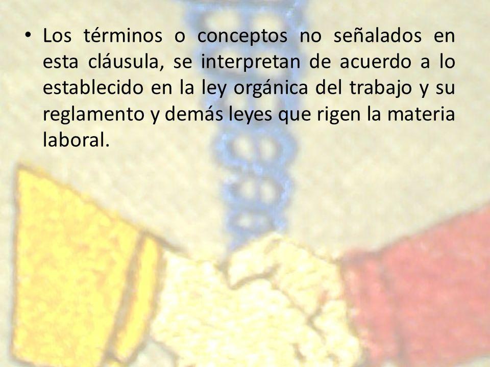 II-Declaraciones Generales Cláusula Nº 02- Reconocimiento de fuero Sindical: La empresa reconoce la inamovilidad laboral, en los términos previstos en la constitución nacional de la República Bolivariana de Venezuela, en su artículo 95º, a todos los integrantes de la junta Directiva del sindicato, hasta un total de doce (12) miembros y delegados por cada sucursal, según lo establecido en el articulo 419º, numeral 5, de la Ley Orgánica del Trabajo, Trabajadoras y Trabajadores.
