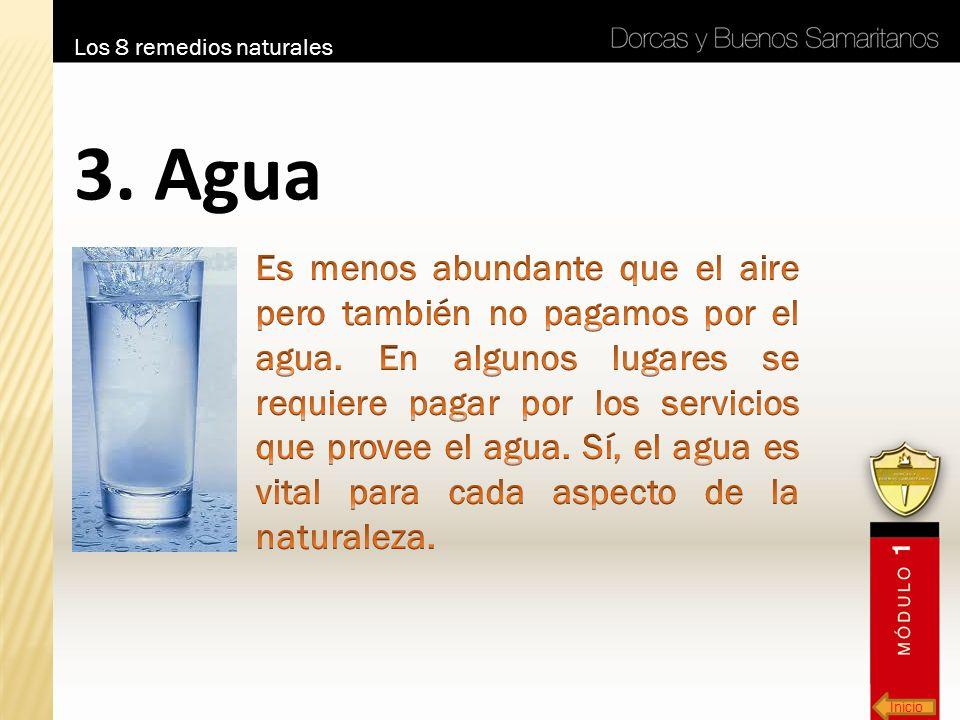 Inicio Los 8 remedios naturales 3. Agua
