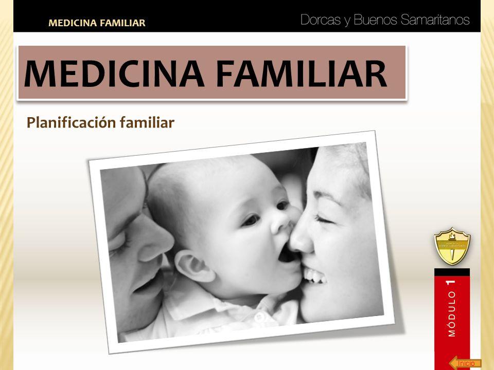 Inicio MEDICINA FAMILIAR Planificación familiar