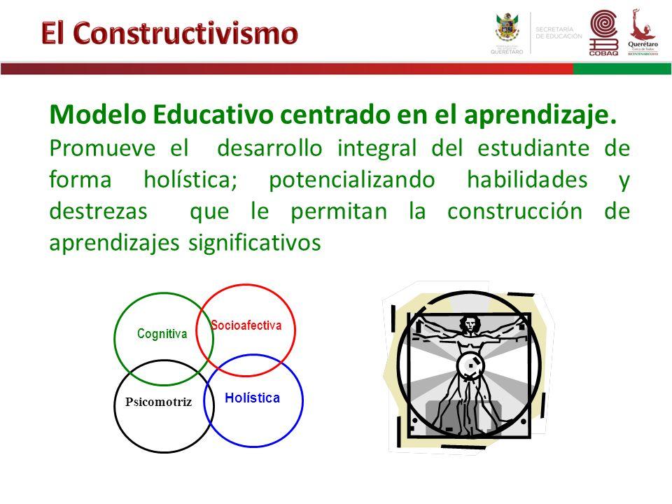 Modelo Educativo centrado en el aprendizaje. Promueve el desarrollo integral del estudiante de forma holística; potencializando habilidades y destreza