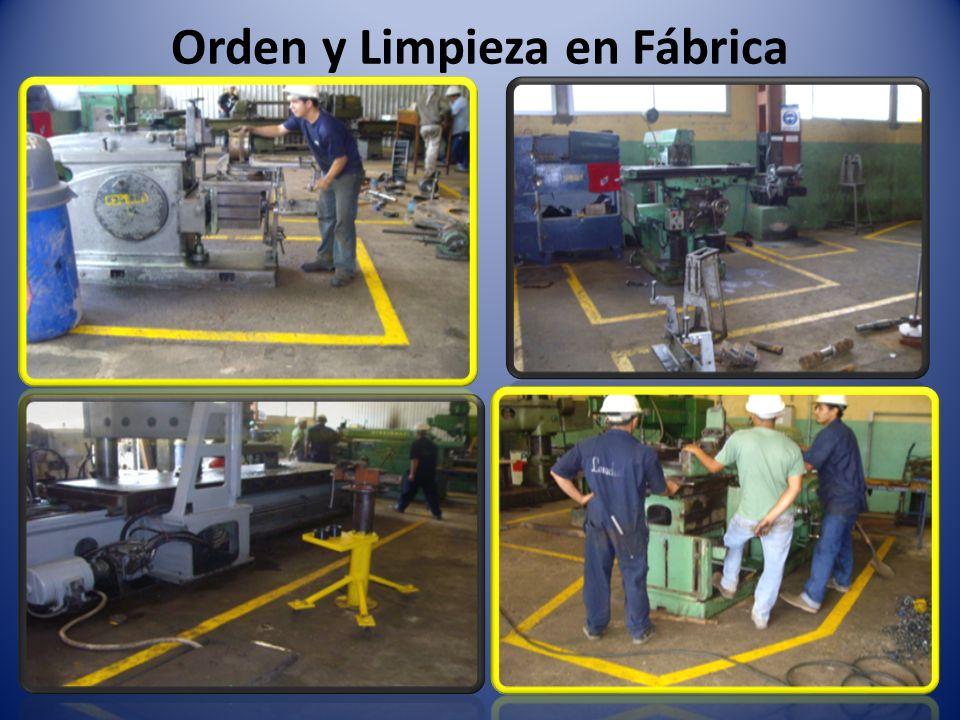 Orden y Limpieza en Fábrica