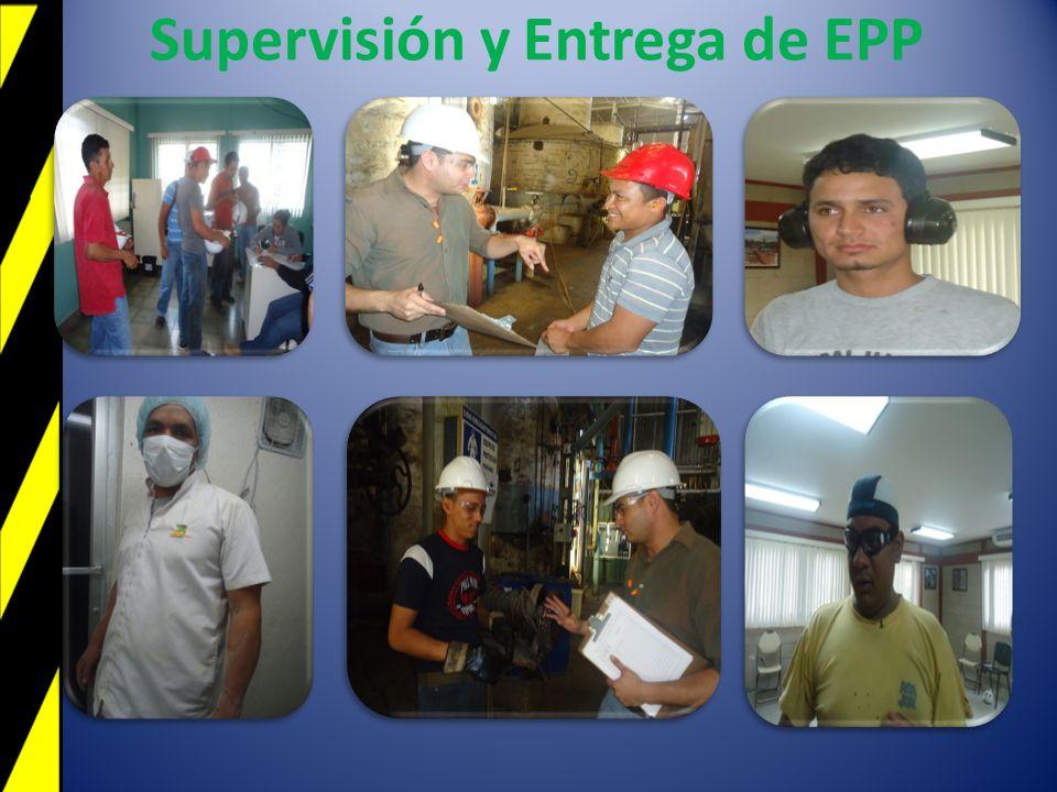 Supervisión y Entrega de EPP