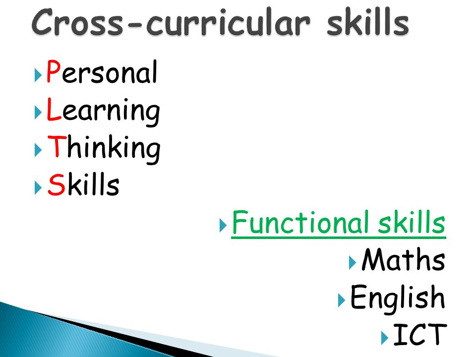 What skills do they possess? What are they able to do?