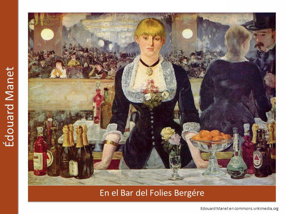 En el Bar del Folies Bergére Edouard Manet en commons.wikimedia.org