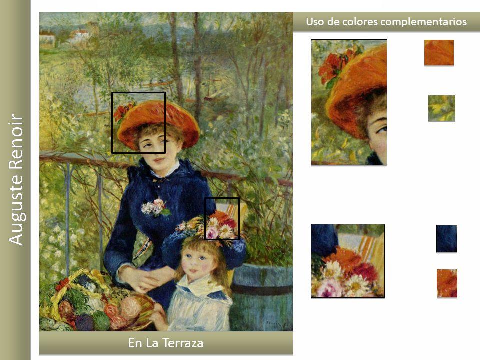 En La Terraza Uso de colores complementarios