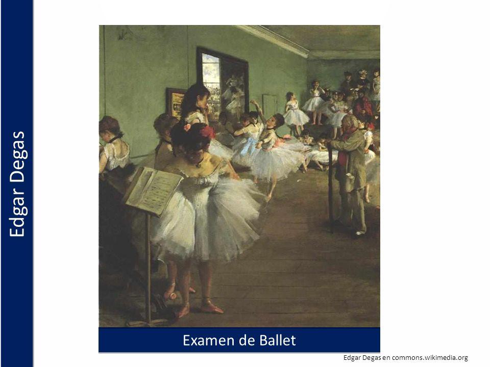 Examen de Ballet Edgar Degas en commons.wikimedia.org