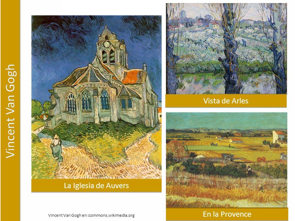 La Iglesia de Auvers En la Provence Vista de Arles Vincent Van Gogh en :commons.wikimedia.org