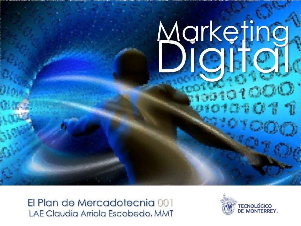 Digital El Plan de Mercadotecnia 001 Marketing LAE Claudia Arriola Escobedo, MMT