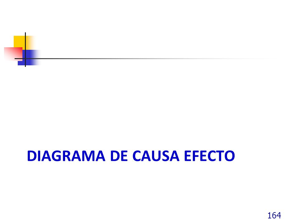 DIAGRAMA DE CAUSA EFECTO 164