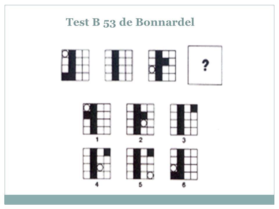 El test Matrices de Raven es un test de lógica destinado a evaluar el nivel de inteligencia.