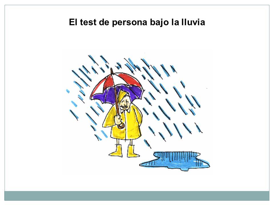 El test de persona bajo la lluvia