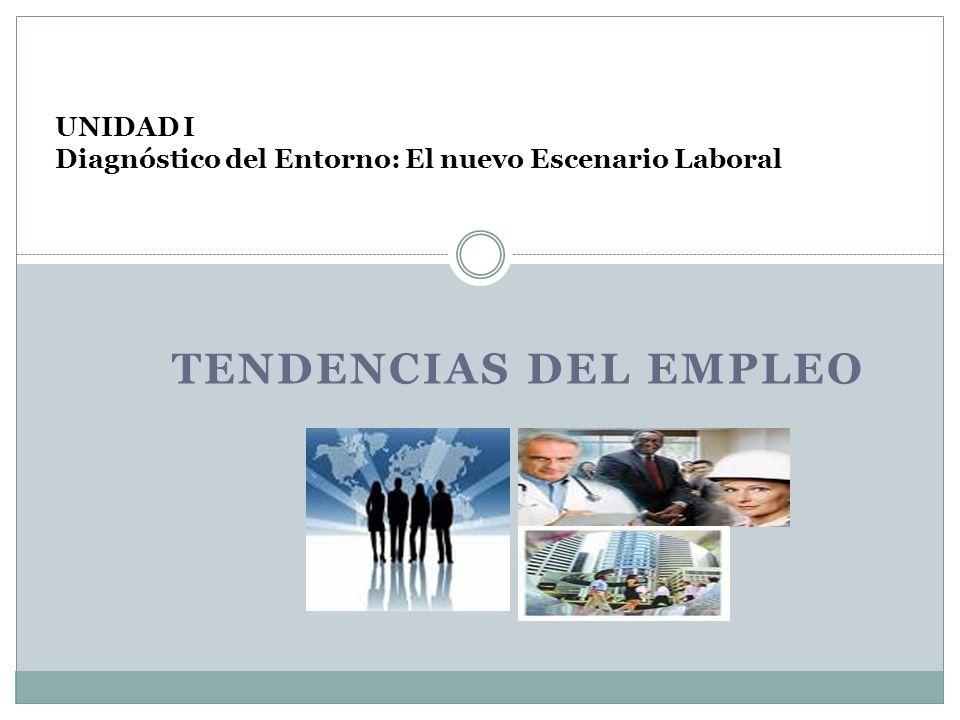 TENDENCIAS DEL EMPLEO UNIDAD I Diagnóstico del Entorno: El nuevo Escenario Laboral